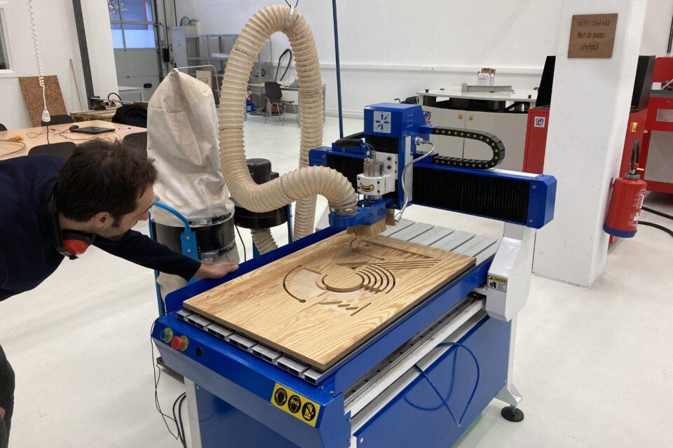 Initiation: Fraisage numérique CNC
