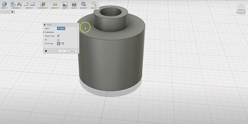 Initiation: Dessin 2D/3D pour la fabrication numérique (Fusion 360)